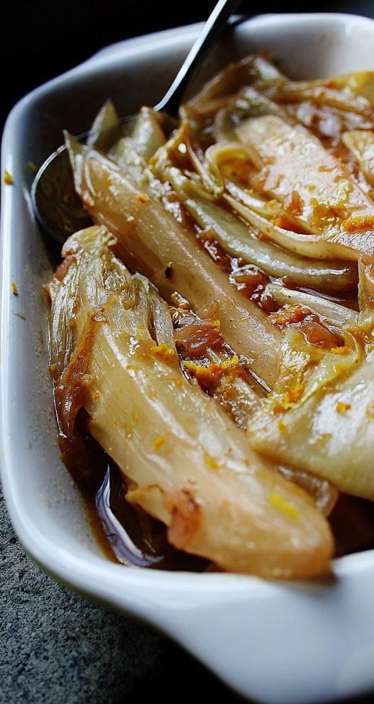 Indivia belga brasata, gustosa ricetta light