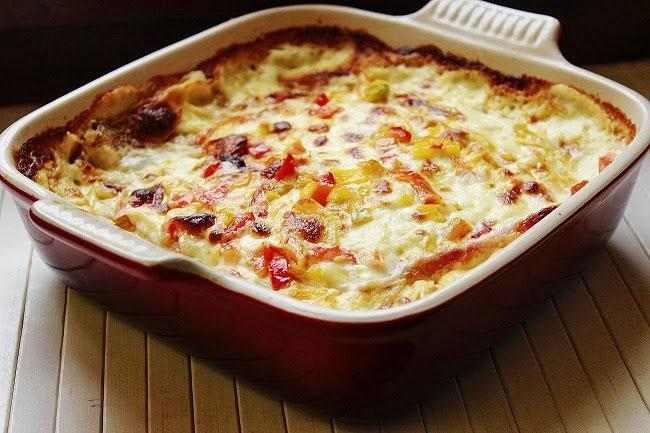 lasagne di pane carasau e verdure