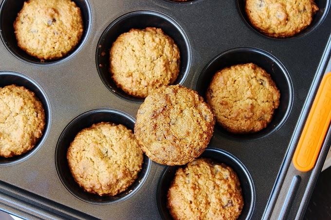 Cookies alle gocce di cioccolato e cocco