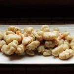 Gnocchetti di semola e salmone fatti a mano