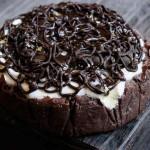 Crostata semifreddo al cioccolato