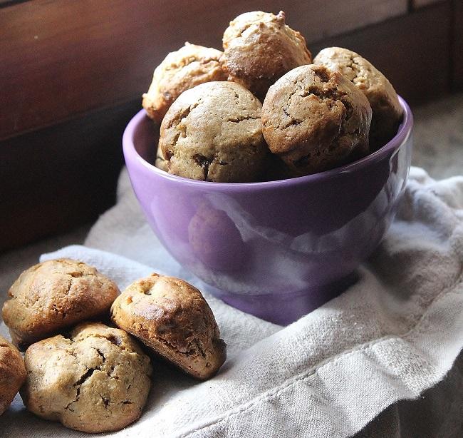 Biscotti con i semi di canapa altamente proteici