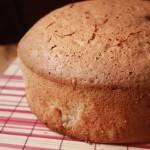 Pan di spagna alla panna