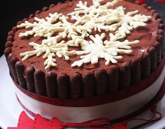 Torta charlotte tiramisu