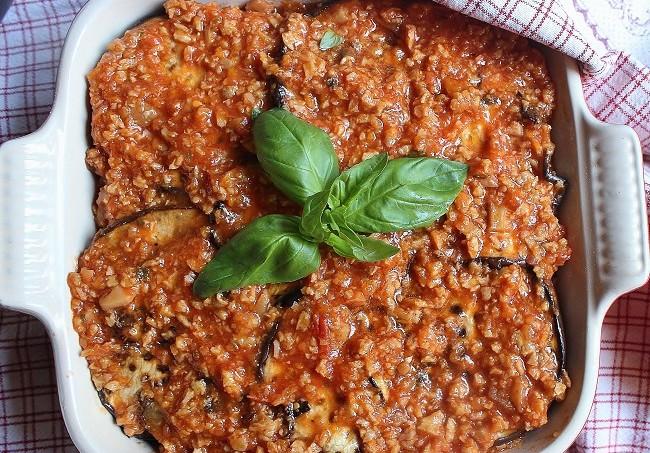 Parmigiana vegana